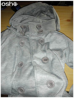 Customisation de sweat à capuche