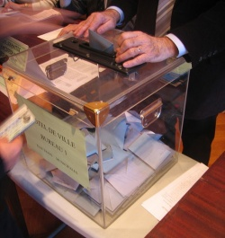 Inscriptions sur les listes électorales - décembre 2011