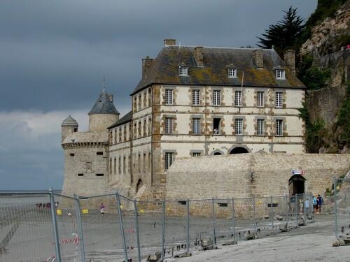 Promenade au Mont-Saint-Michel...