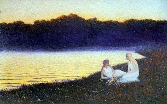 Alphonse Osbert, Lac dans les bois