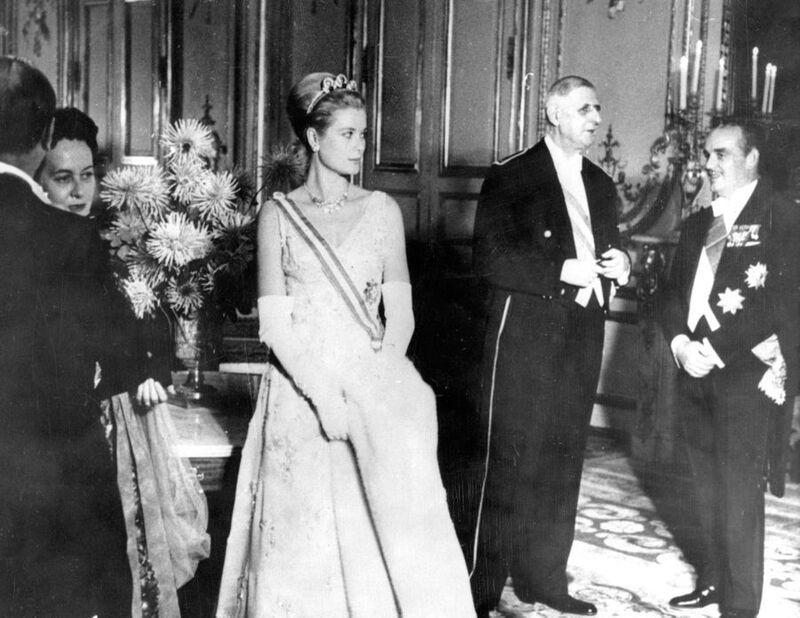 Octobre 1959, visite des Grimaldi à Paris