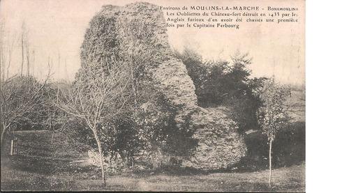 LES REMPARTS DE BONSMOULINS (Orne)