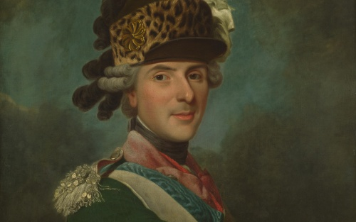 Alexandre Roslin, portraitiste du XVIIIè siècle