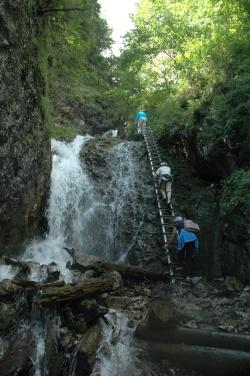 gorge Sejmarska Roklina Paradis Slovaque