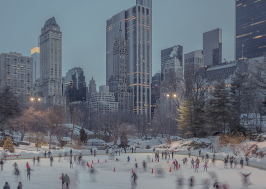 des terrains de sports à New York