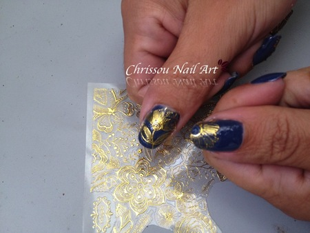 Test Nail Stickers 3D born pretty