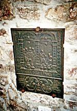 Ofenplatte mit der Hochzeit zu Kanaa