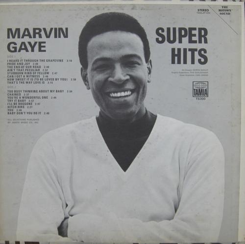 "Marvin Gaye : Album "" Super Hits "" Tamla Records TS 300 [ US ]"