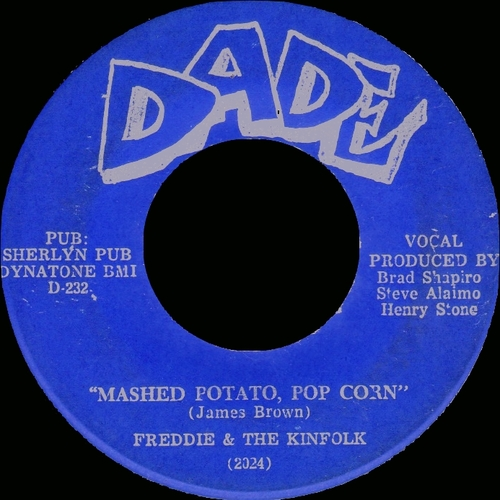 Freddie & The Kinfolk : Single SP Dade Records DA-2024 [ US ]
