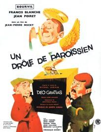 UN DRÔLE DE PAROISSIEN BOX OFFICE FRANCE 1963