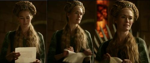 Cersei en vert!