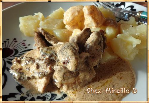 Aiguillettes de Canard Sauce Foie Gras et Morilles