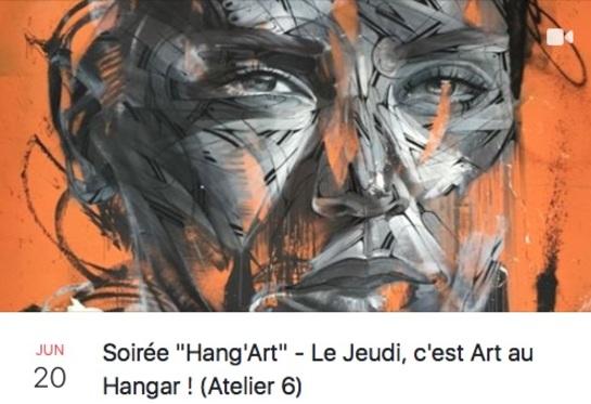 20 juin : Hang'art et histoire