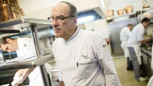 L'ancien chef des cuisines de l'Elysée, Bernard Vaussion