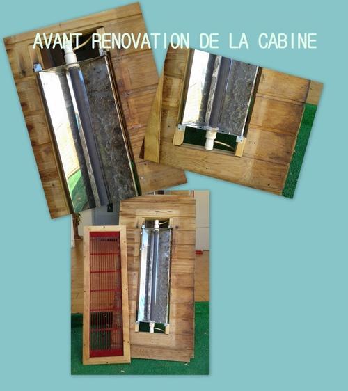 Réparer et rénover vos cabines