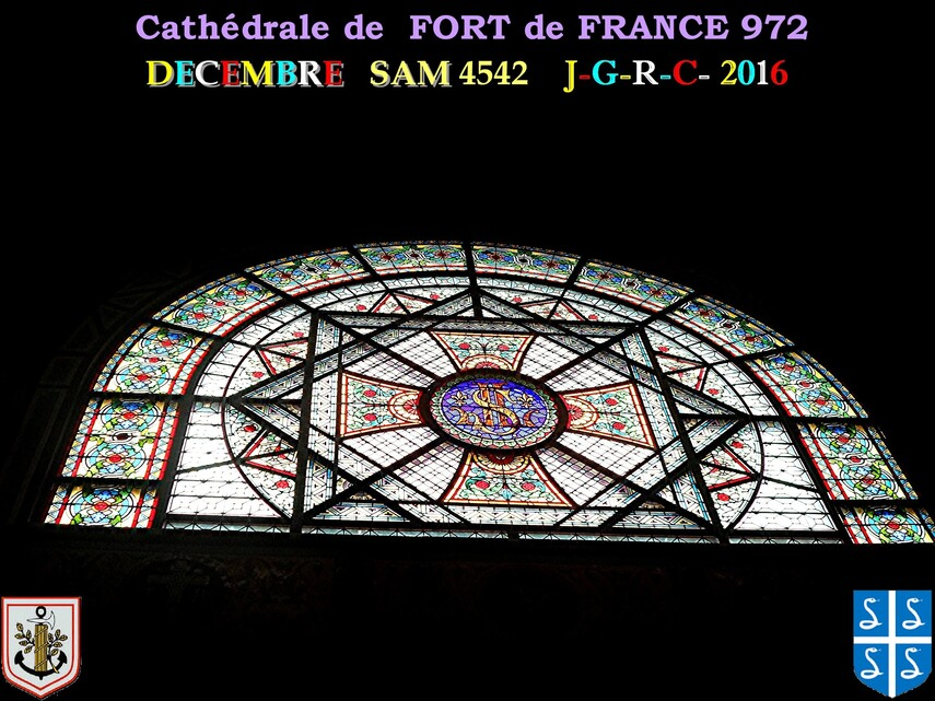 EGLISE DE MARTINIQUE:  Cathédrale de FORT de FRANCE    2/5       D 18/05/2017