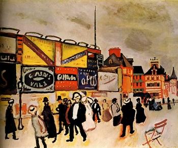 Raoul Dufy, Les affiches à Trouville