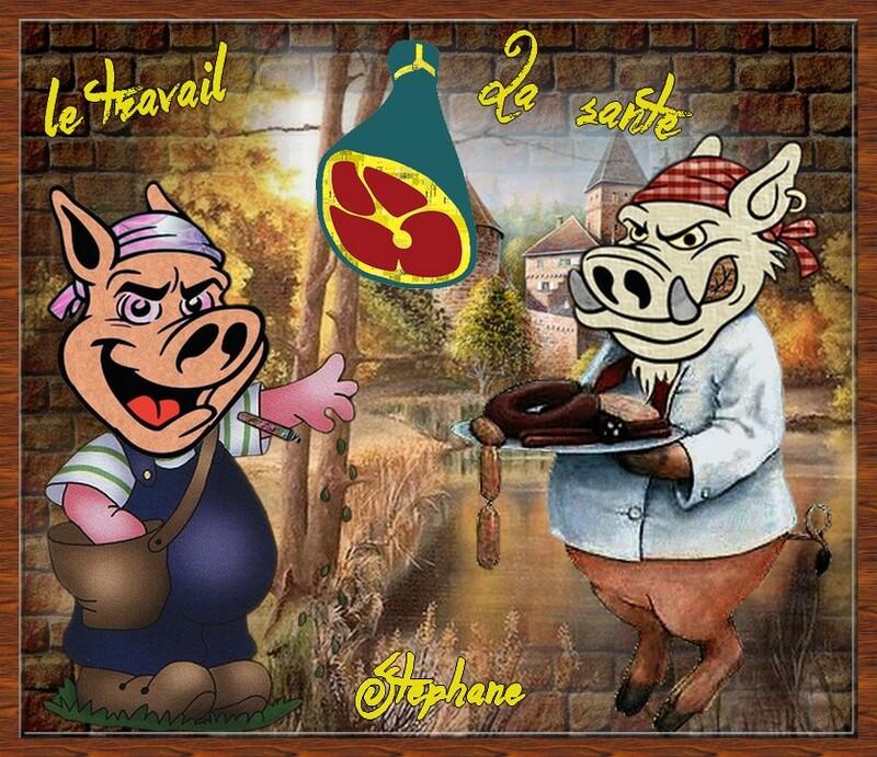 défi pour Maman  le cochon