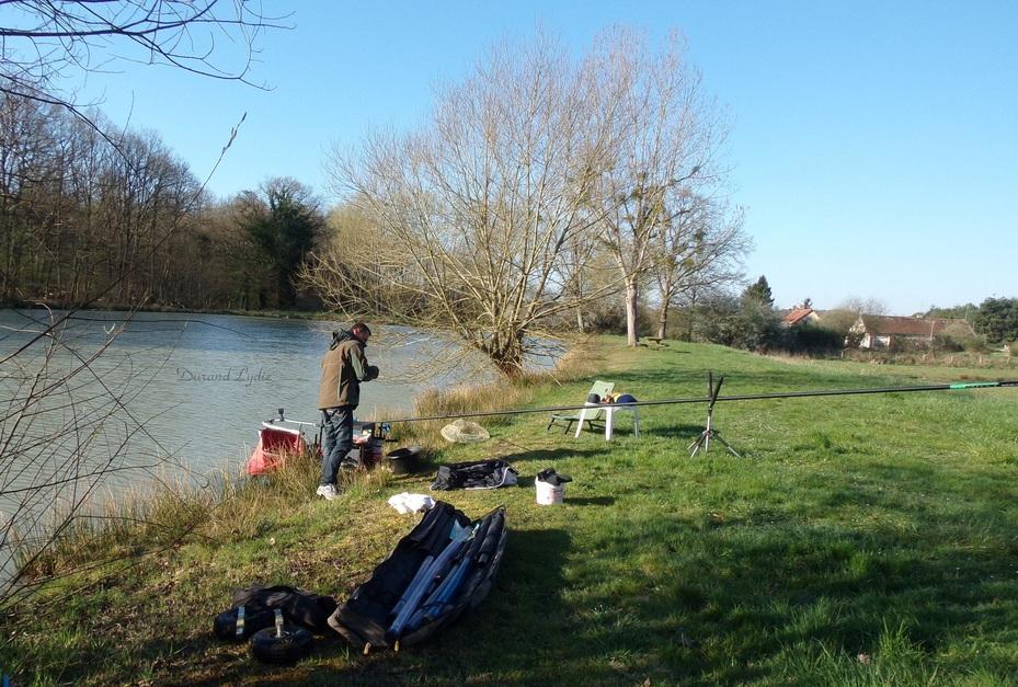 Pêche à l'étang de Mur-de-Sologne