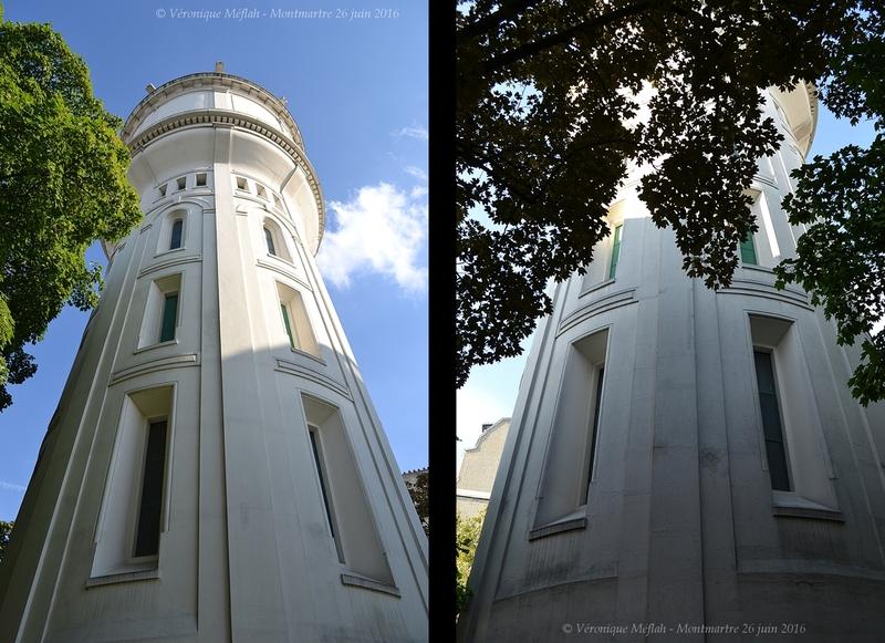 Montmartre : Le château d'eau du square Claude Charpentier