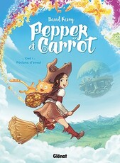 Pepper et Carrot tome 1- Potion d'envol