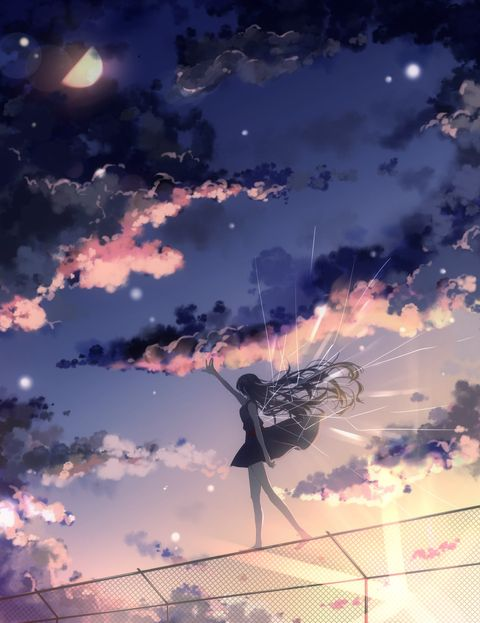 Skies and Clouds!! - pixiv Spotlight: