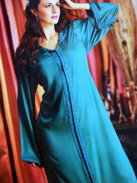 Djellaba 2015-marocain-pour soirée origina pas cher et sur mesure comme une abaya et jilbab -DJ-S907