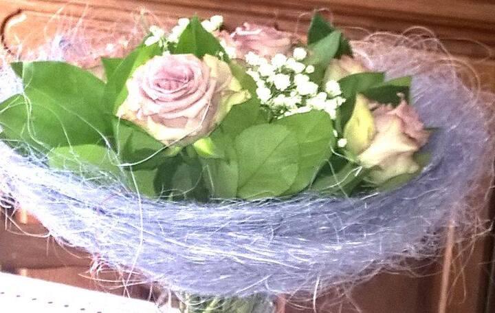 Des fleurs de fête.