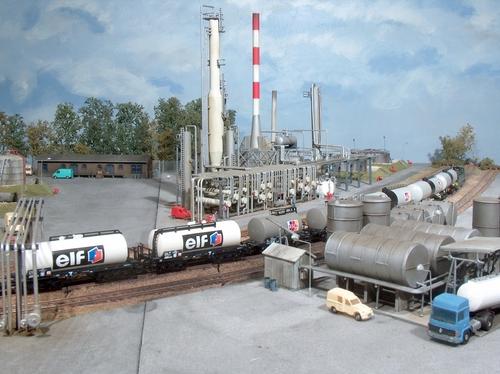 La raffinerie d'Ennecourt