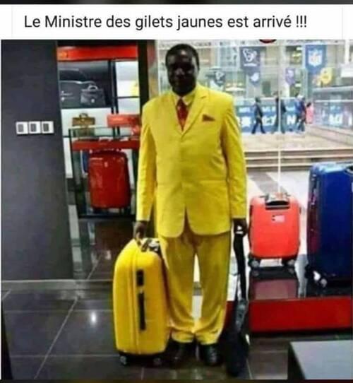 humour noir pour les jaunes !!