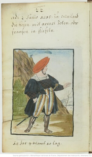 Dans la garde robe de Matthäus Schwarz