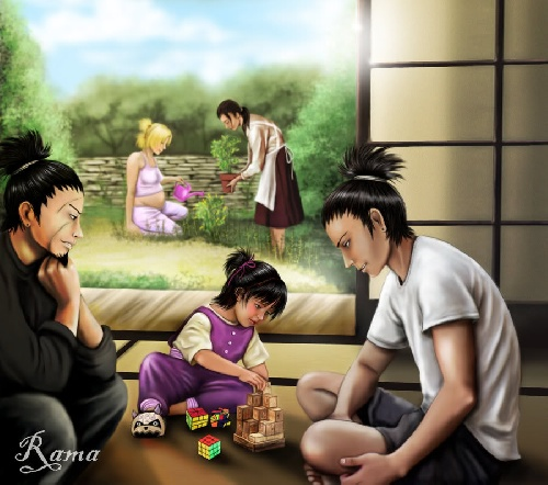 Temari-Shikamaru life