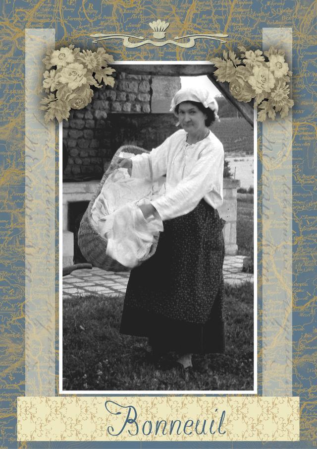 Blog de sylviebernard-art-bouteville : sylviebernard-art-bouteville, Souvenirs des anciennes lavandières du village de Bouteville