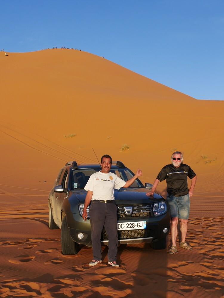 Merzouga - les dunes