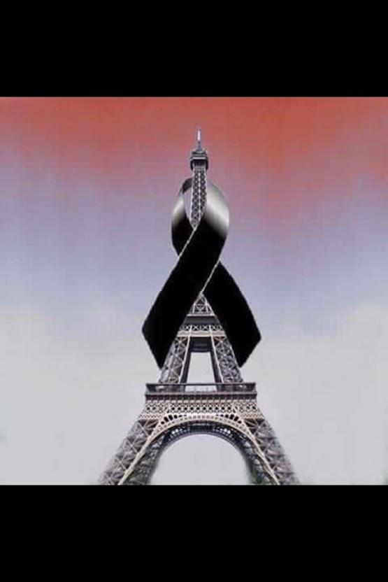 JE SUIS PARIS - EN HOMMAGE  ( CAUSE :  ATTENTAT LE VENDRDI SOIR 13 NOVEMBRE 2015)
