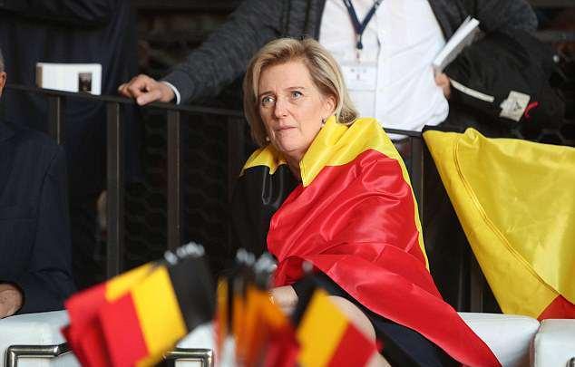 Allez la Belgique!!