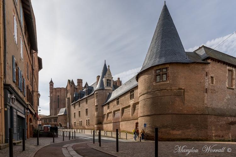 Albi : Cathédrale fortifiée et palais