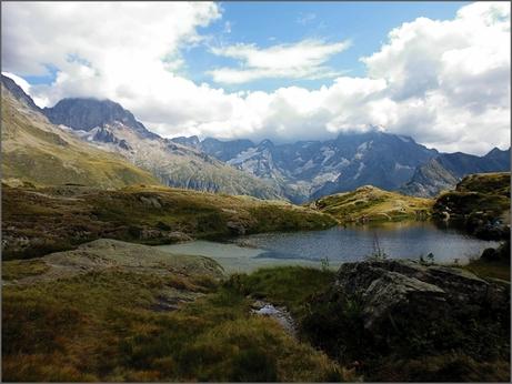 Lac du Lauzon (Valgaudemar, 08/2015)