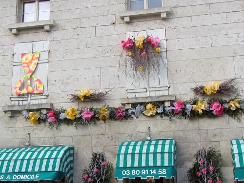 Les vitrines des commerçants châtillonnais fêtent saint Vincent !