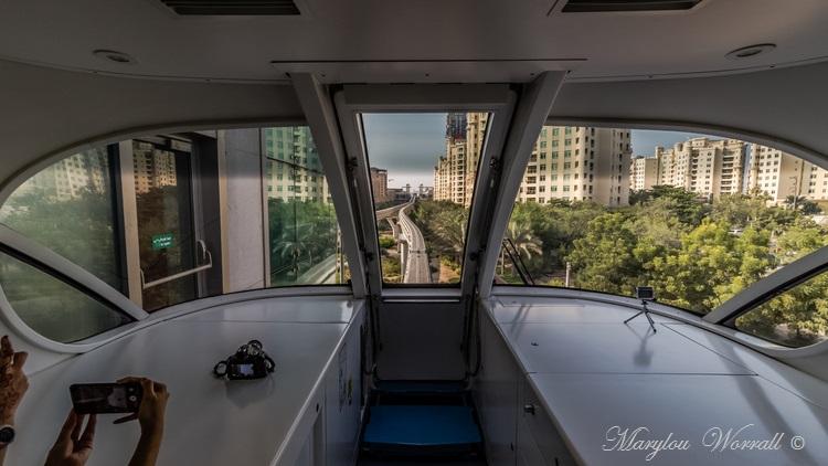 Dubaï : Le Monorail de Palm Jumeirah