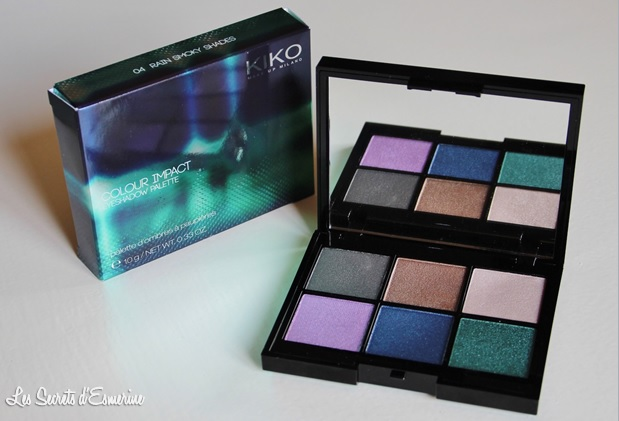 kiko, color impact, 04, rain smoky shades