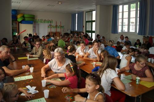 50 enfants au loto de ce lundi.