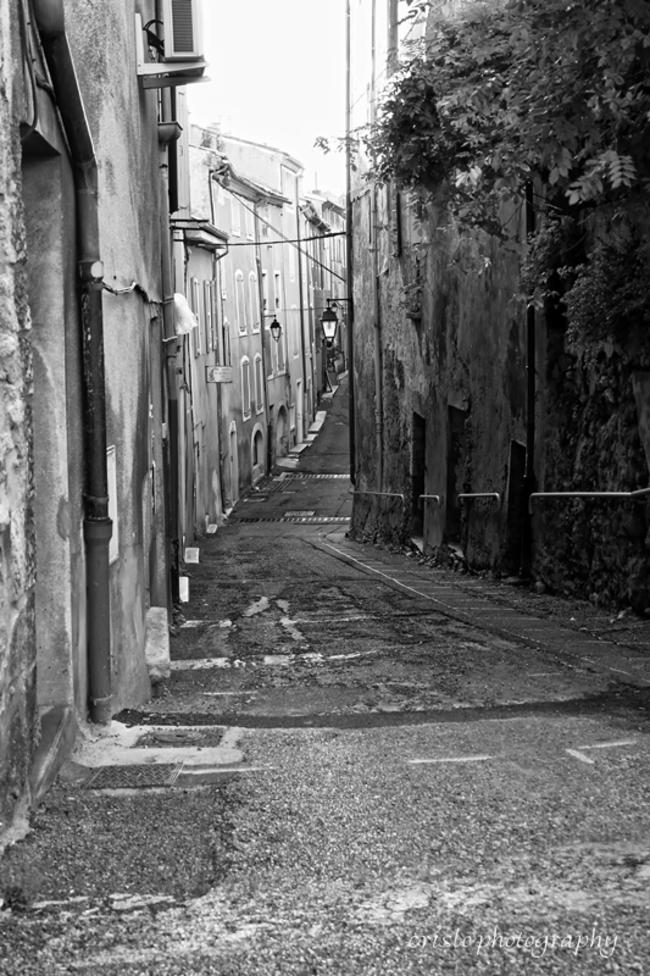Nyons , vieille ville