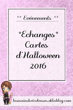 *Echange* carte d'Halloween 2016