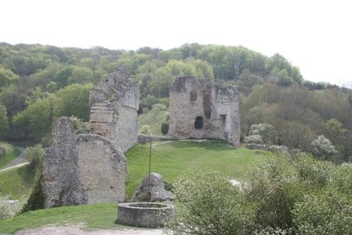 Château-Gaillard, la forteresse