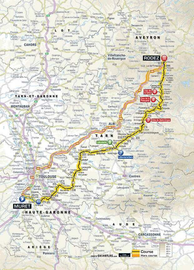 - Passages du Tour de France à Graulhet