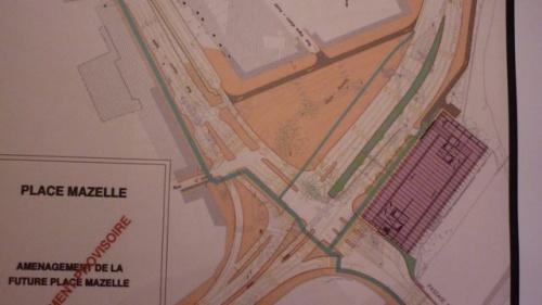 Avis du Comité de quartier sur la place Mazelle (9 septembre 2010)
