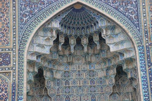 Le mausolée de Tamerlan, à samarcande