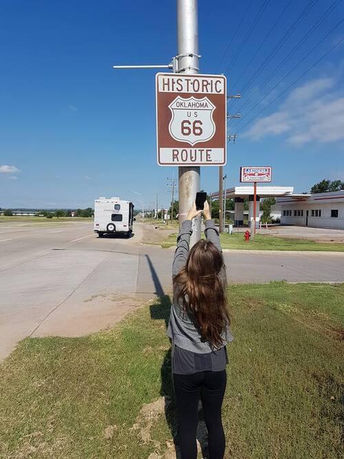 """La """" Route 66 """" aux États-unis"""