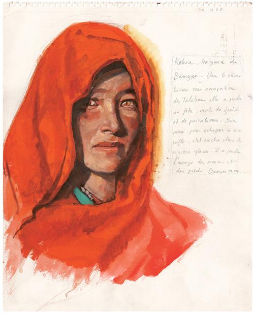 8 mars : Journée de la Femme, donc portrait par Titouan Lamazou